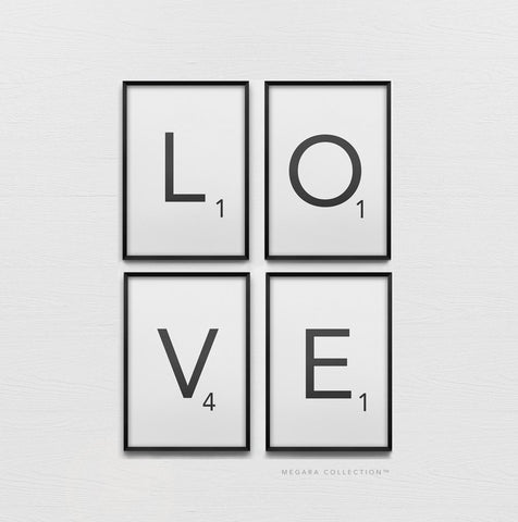 Love SCRABBLE art