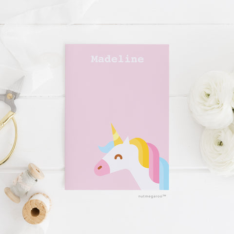 Unicorn Kids Stationery - Printable