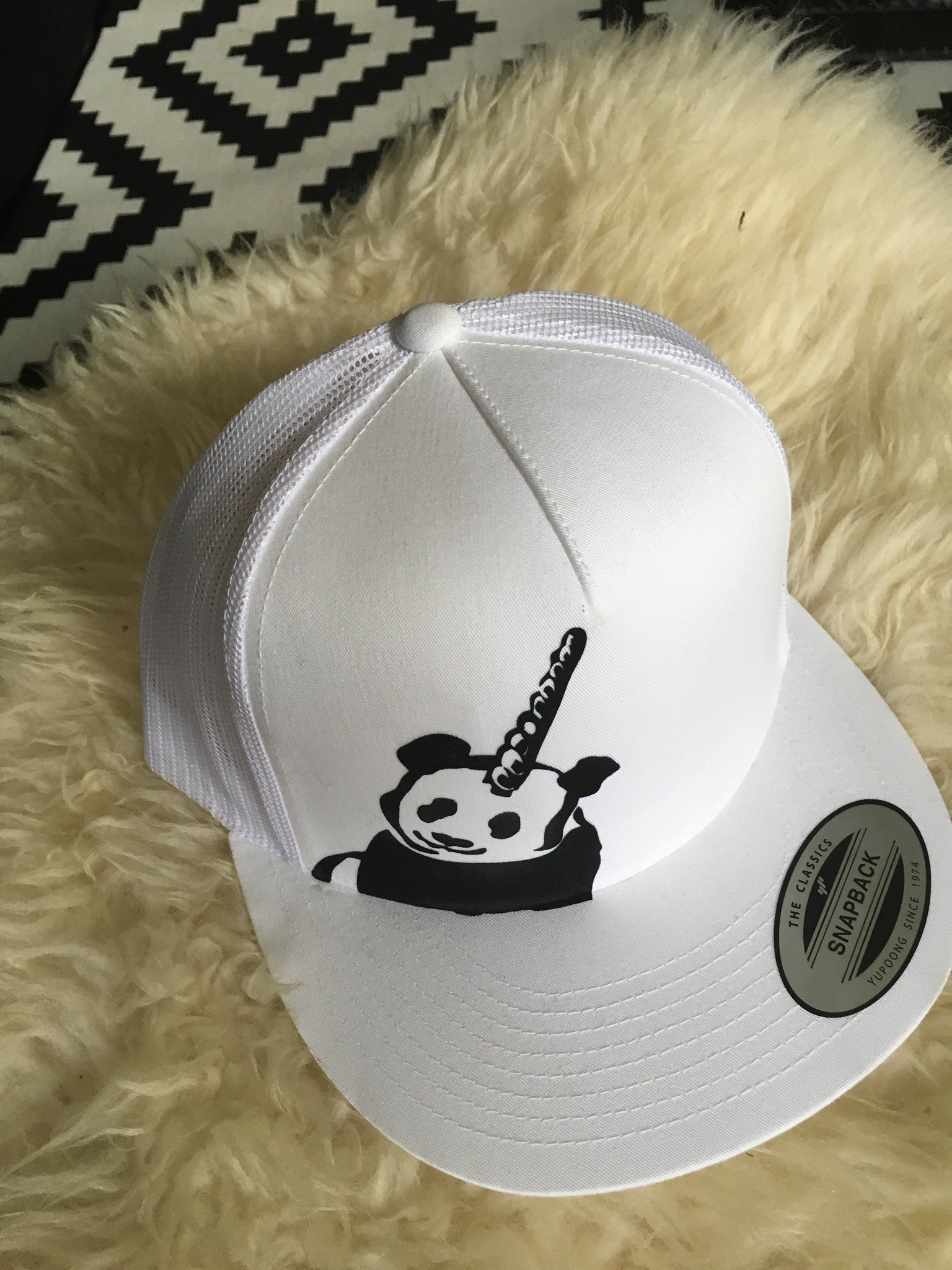 White PANDACORN Hat