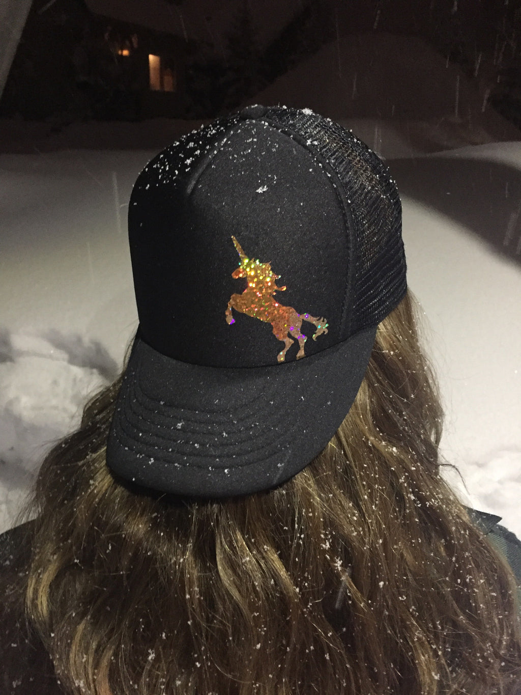 Gold Unicorn Hat