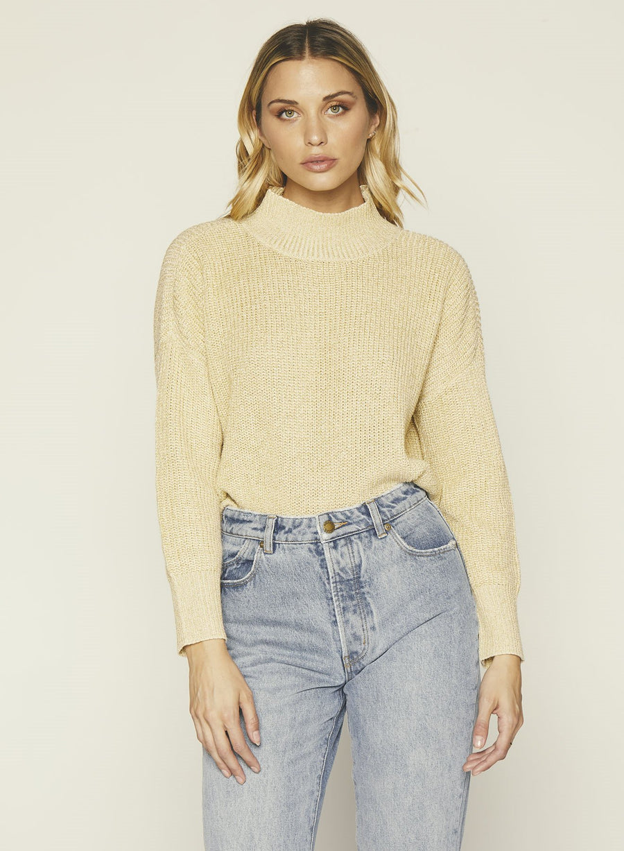Libby Sweater-Champaigne