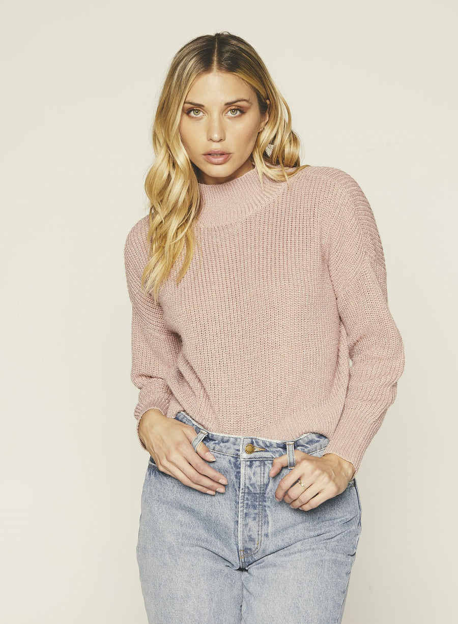 Libby Sweater-Dusty Rose