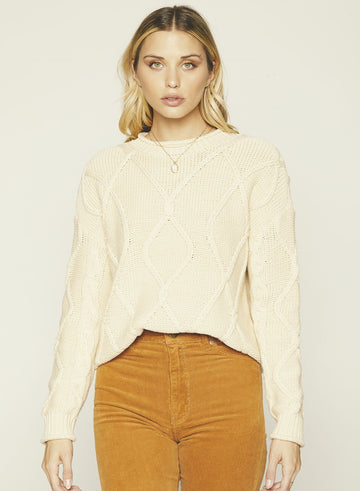 Zella Sweater-Cream