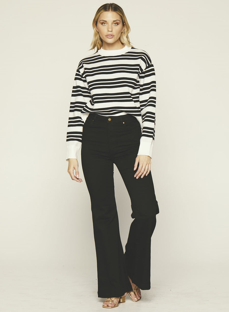 Tara Sweater-BLACK
