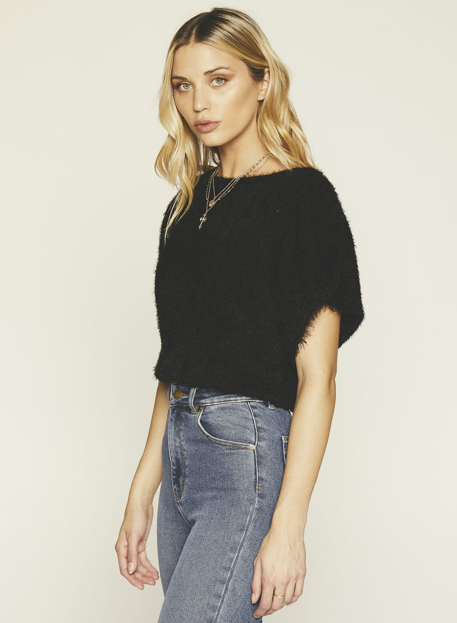 Nina Sweater-BLACK