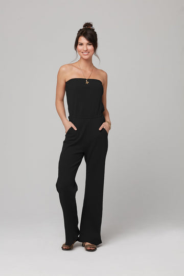 ANGELINE JUMPSUIT-BLACK