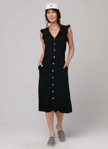 CATHRINA DRESS-BLACK