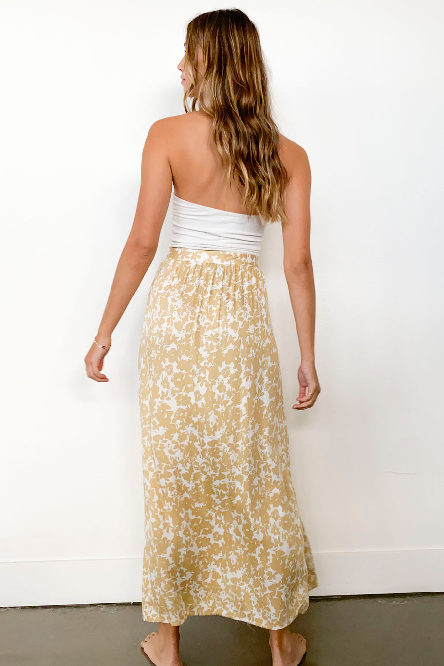DIXIE SKIRT-Gold