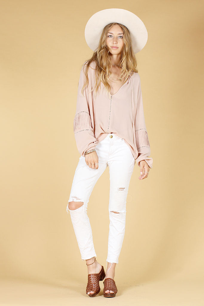 WILD ONE TOP - BLUSH