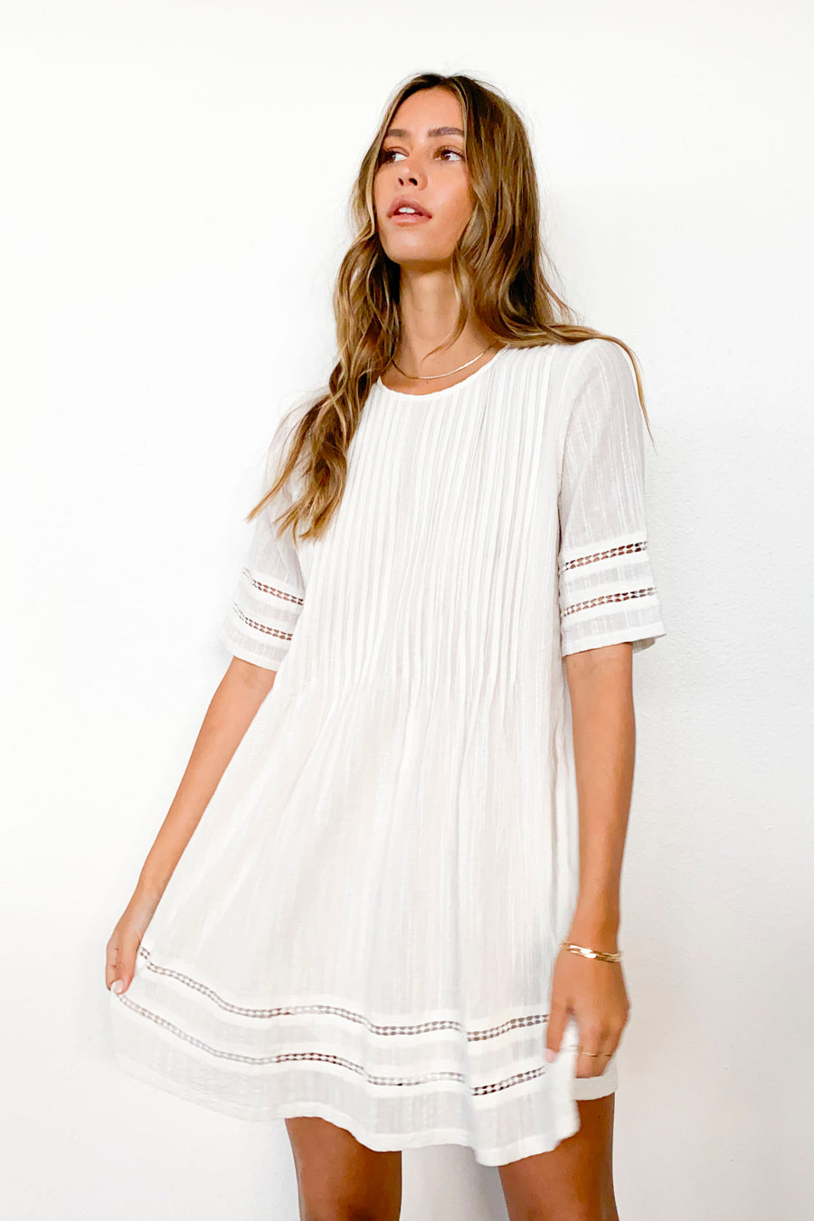 Phillips Dress-WHITE