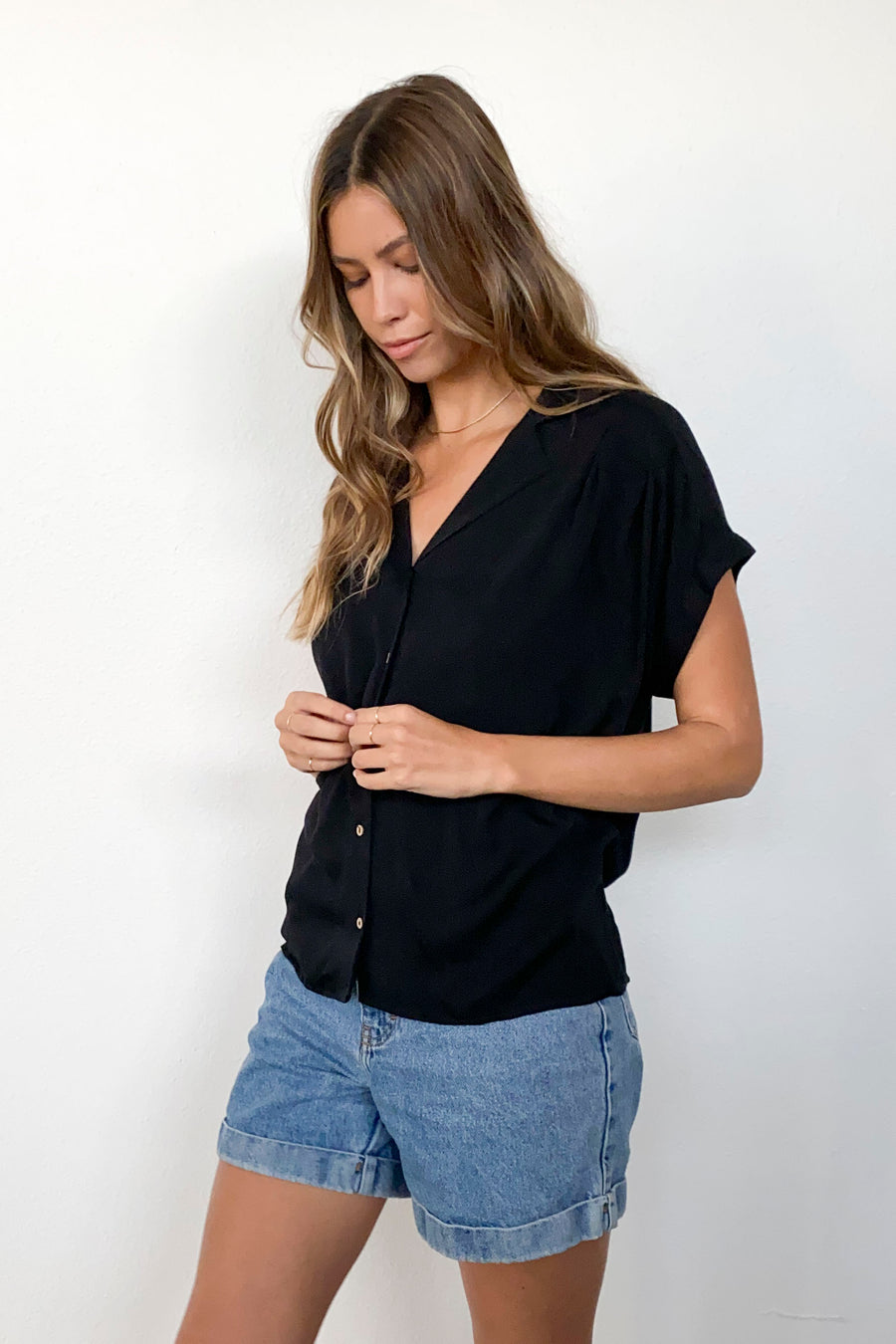 SOPHIE TOP TOP-BLACK