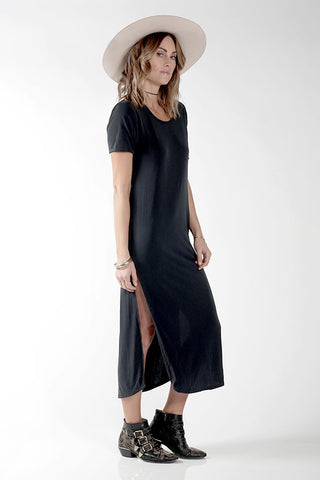 DIDDY DRESS - FADED BLACK