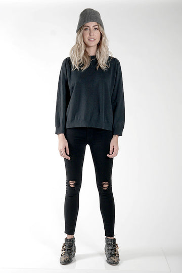 DAILY SWEATER - EVERGREEN - Knot Sisters