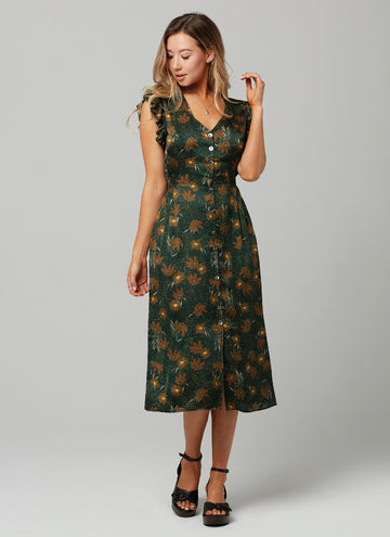 MAYA DRESS-Daisy