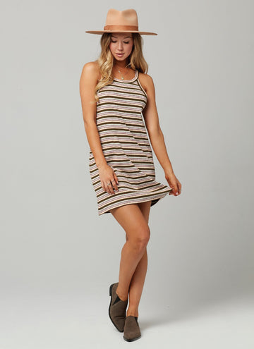GEARY DRESS-Stripe