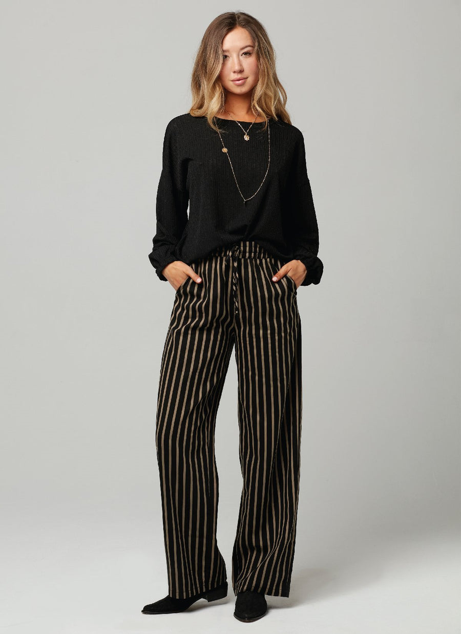 BAILEY PANT-Black Gold