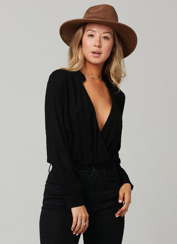KIM BODYSUIT-BLACK