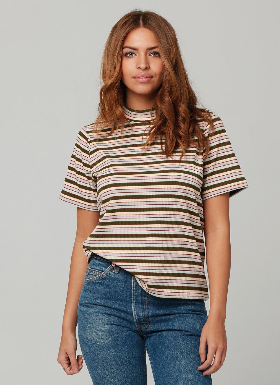 DEVY TOP-Stripe