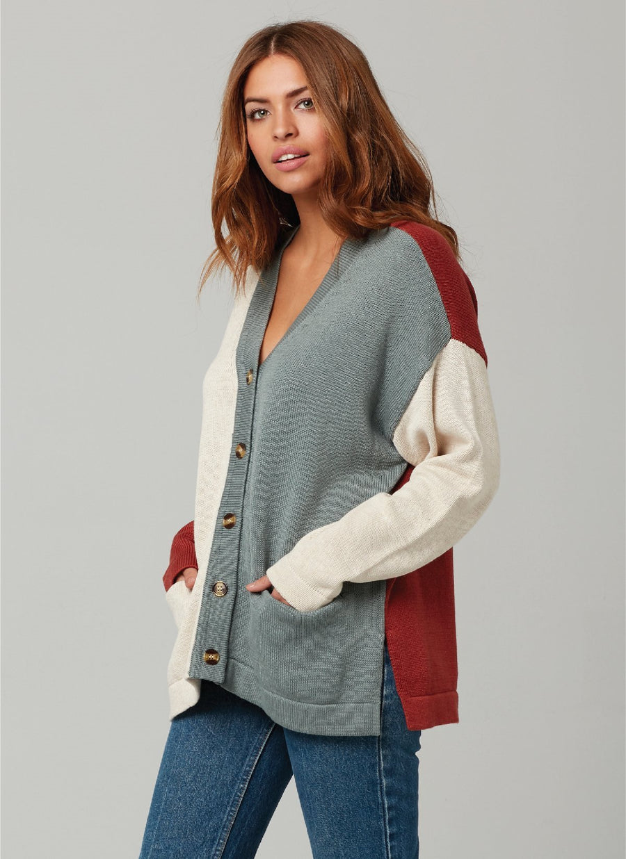 MOLLY CARDIGAN-Siena