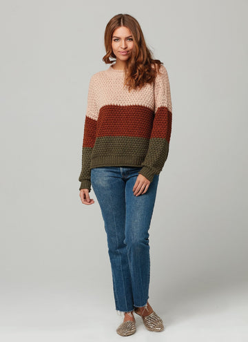 ZELLA SWEATER-Military Green