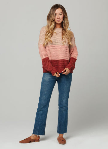 ZELLA SWEATER-Siena
