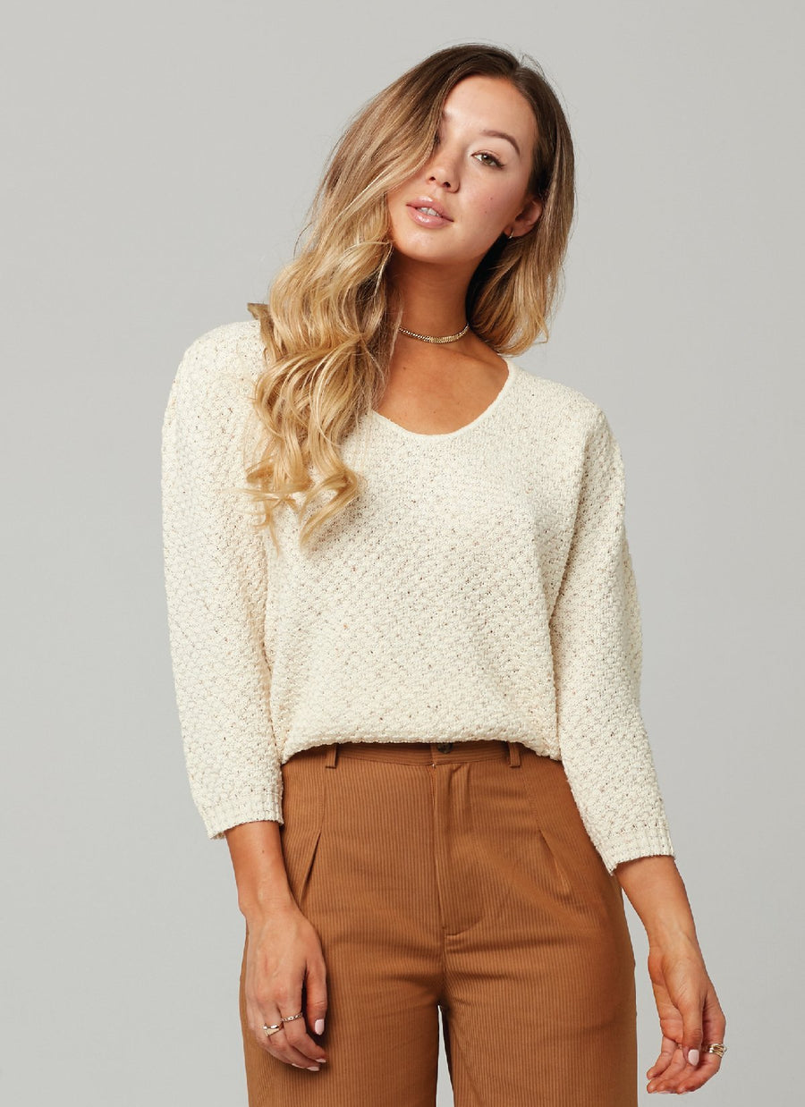 GENIE SWEATER-Natural