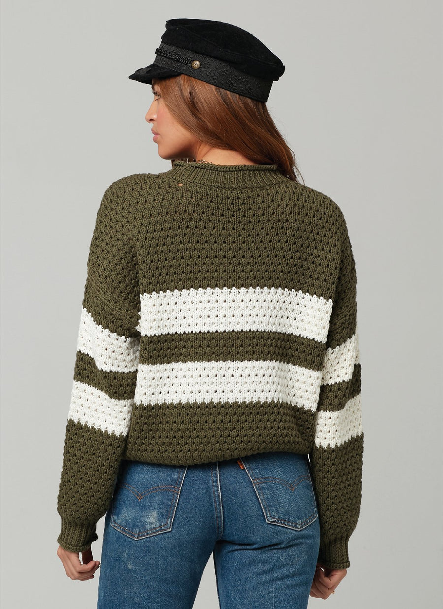 OZZY SWEATER-Military Green