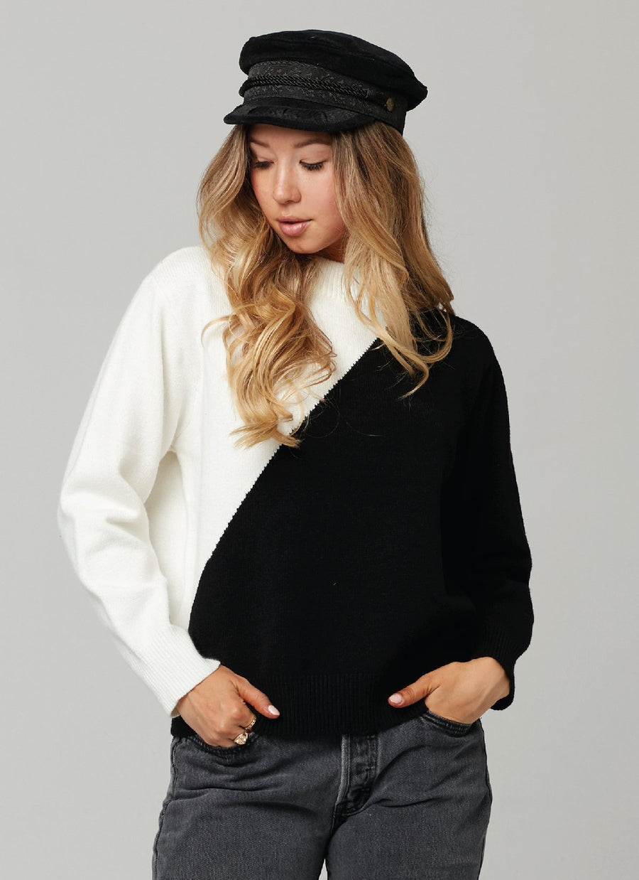IMAGE SWEATER-BLACK