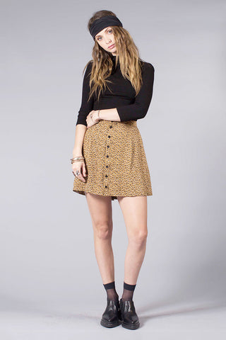 SHORTY SKIRT - FOX TAIL PRINT