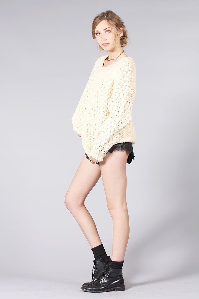 McALLISTER SWEATER - CREAM