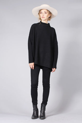 SCOTLAND SWEATER - BLACK
