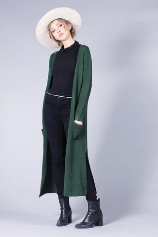 SIENNA SWEATER - DARK PINE