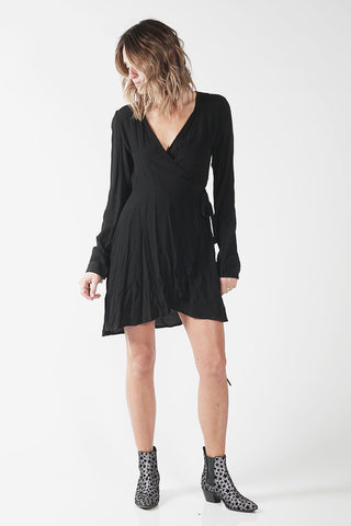 THORN DRESS - BLACK