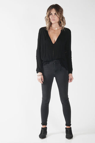 WILD ONE TOP - BLACK