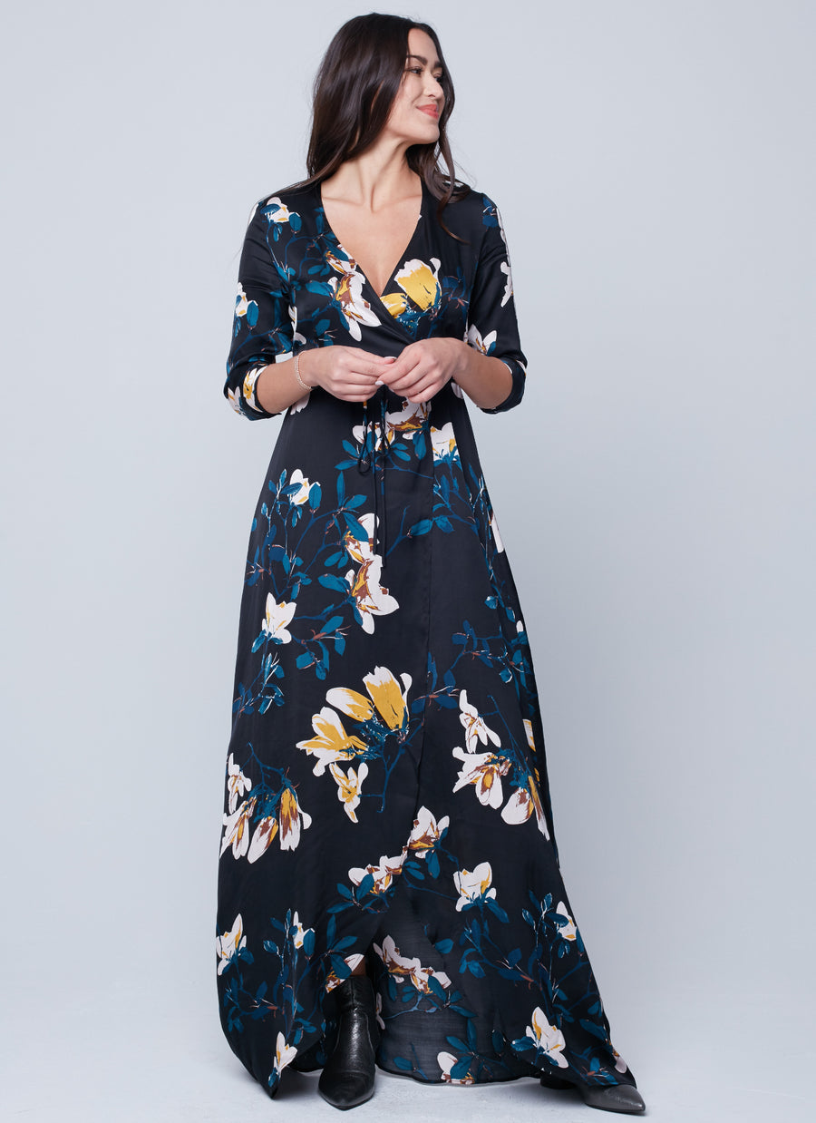 KAYLA WRAP DRESS
