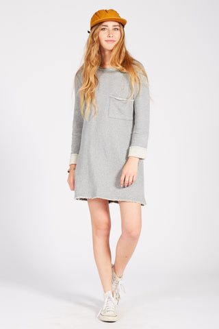 CHICAGO DRESS - HEATHER GREY