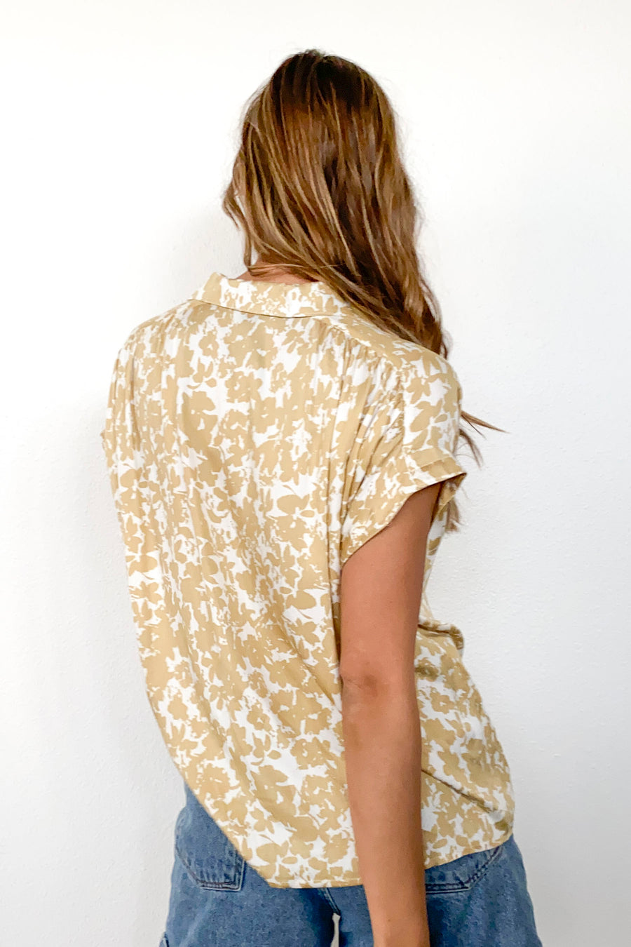 SOPHIE TOP TOP-Gold