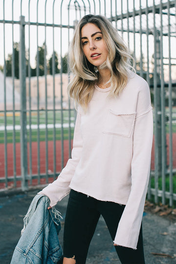 NATALIA TOP - DUSTY PINK