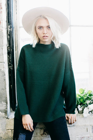 SCOTLAND SWEATER - IVY GREEN