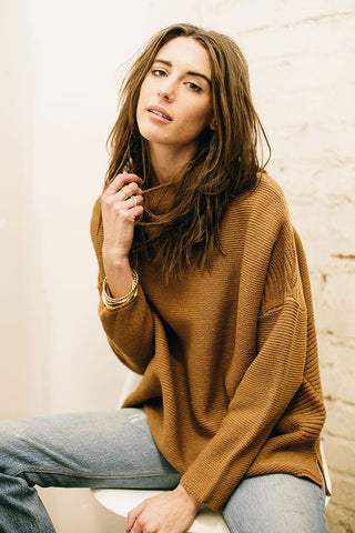 SCOTLAND SWEATER - CAMEL