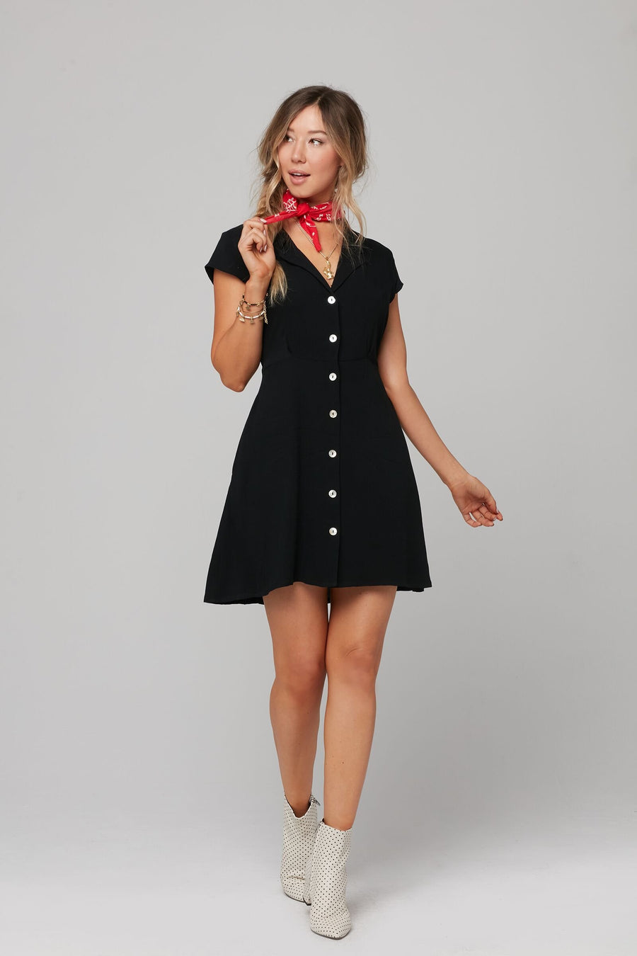 TRACY DRESS-BLACK