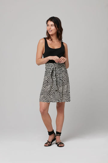 FRIDA SKIRT-BLACK