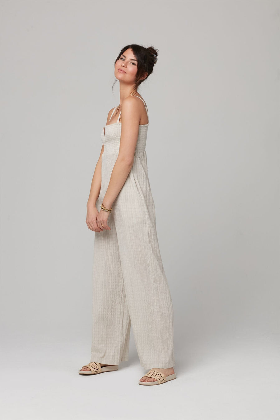 JUNIPER JUMPSUIT-Natural
