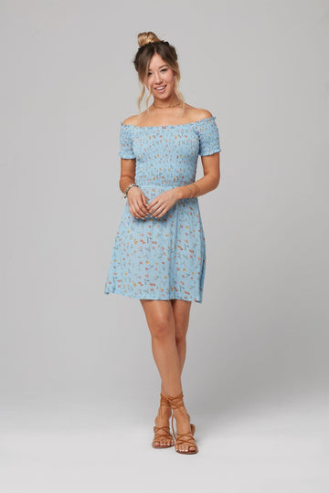BLUEBELL DRESS-Poppy