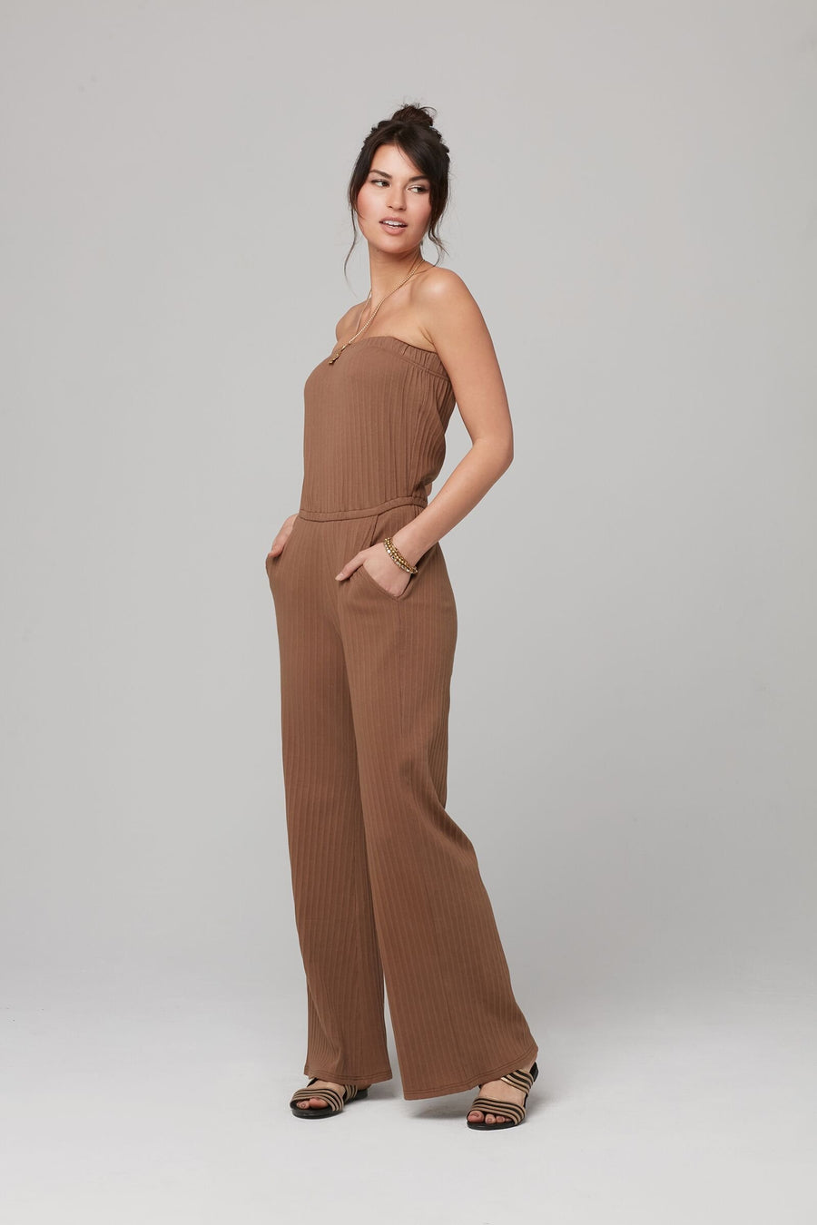 ANGELINE JUMPSUIT-Cocoa