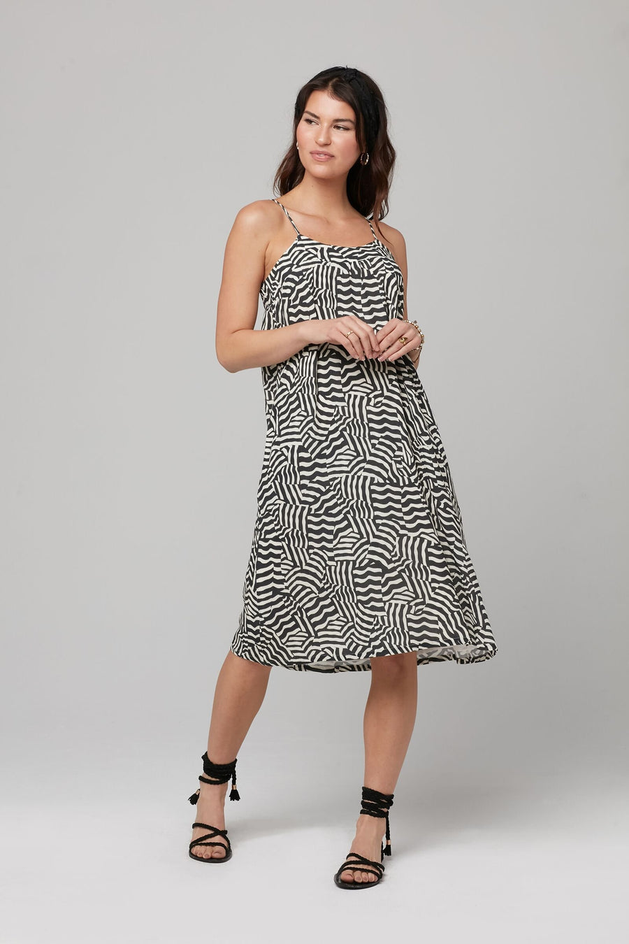 HARING DRESS-BLACK