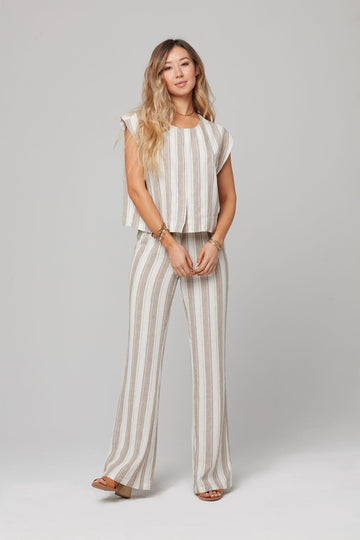 ELENOR PANT-Taupe
