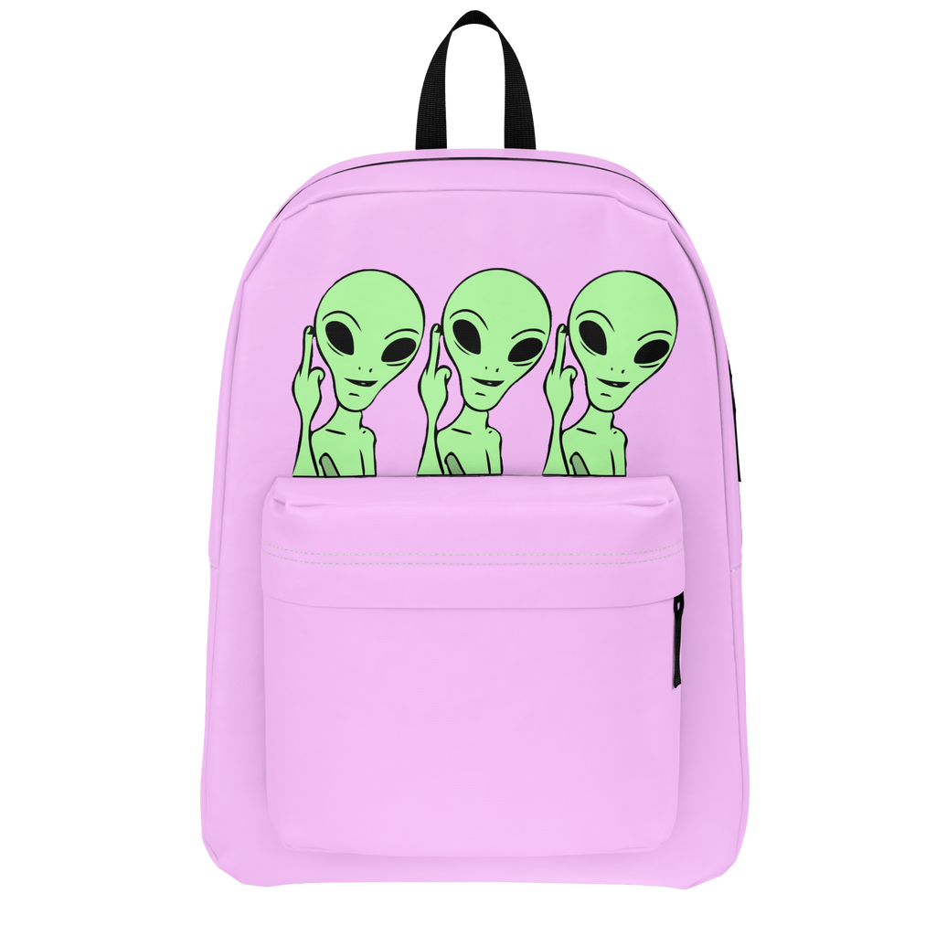 SimplyNessa Pink Alien Backpack