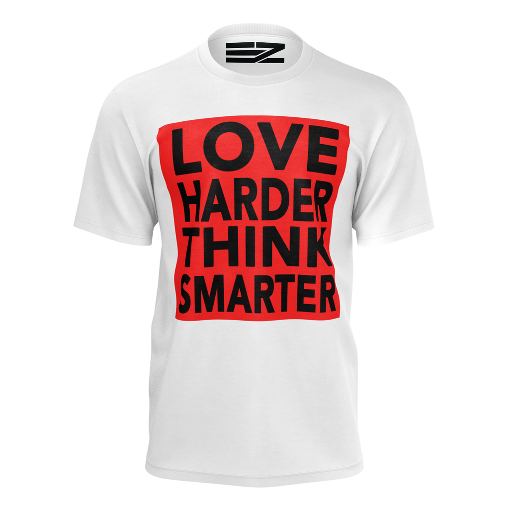 Limited-Edition Love Harder Think Smarter Men's T