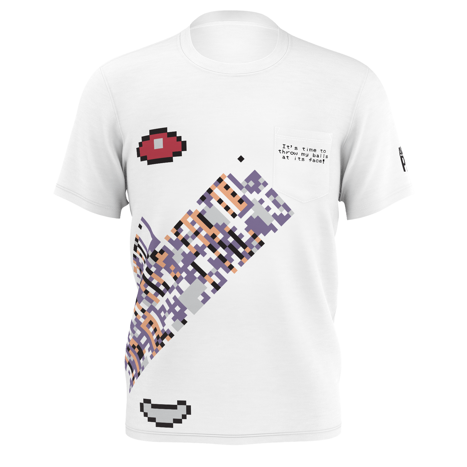 Austin John MissingNo Pocket T-Shirt